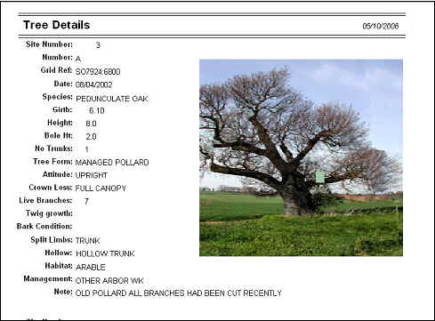 WORCESTERSHIRE ANCIENT TREE REGISTER